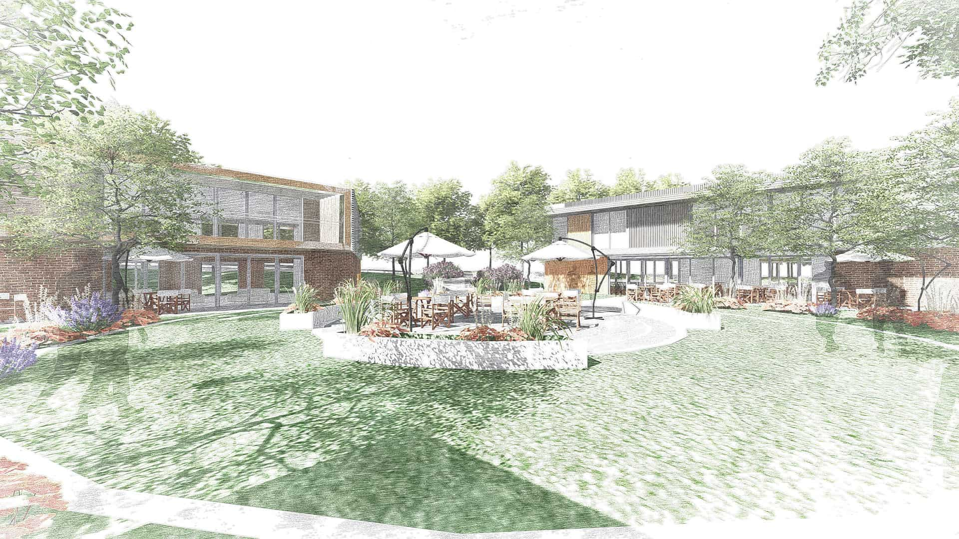 Rusticus Care Home masterplan design specialising in the care of dementia patients
